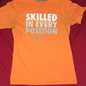 """Nike """"Skilled In Every Position"""" Tee Shirt."""